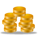 Earning money coins cash statements