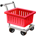 Empty shopping cart webshop ecommerce