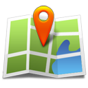 Location maps gps marker