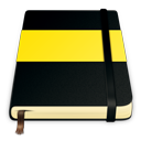 Moleskine yellow