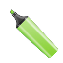 Highlighter pen marker green