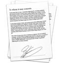 Contract signature references document