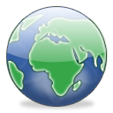 Globe browser earth world