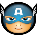 Hero avatar superhero america captain avengers
