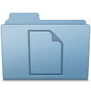 Blue folder documents