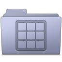Lavender folder icons