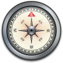 Iphone compass silver