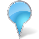 Map marker bubble azure google marker