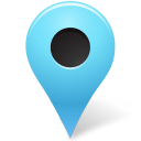 Map marker outside azure