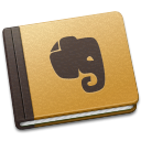 Evernote brown
