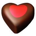 Hearts chocolate 03