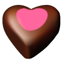 Hearts 11 chocolate