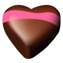 05 hearts chocolate