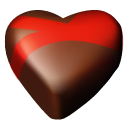 Hearts chocolate 09
