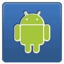 Android network internet social logo