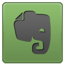 Evernote network internet social logo