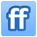 Friendfeed network internet social logo