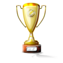 Prize trophy star award