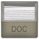 Doc file document documents folder paper software