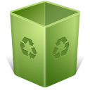 Recycle bin trash erase empty