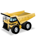Construction dump truck rigid
