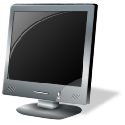 Computer lcd monitor screen