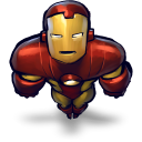 Comics ironman flying