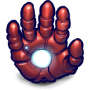 Comics ironman hand
