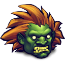 Street fighter blanka