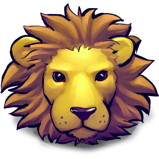 Lion young
