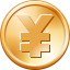 3d coin base yen shapes