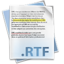 Filetype rtf