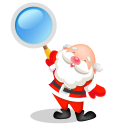 Christmas search santa