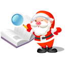 Christmas book search santa