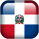 Flag republic dominican