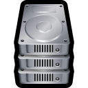 Device hard drive stack