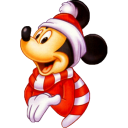 Mickey christmas minnie mouse