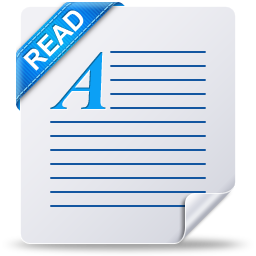 Document File Text Readme Read File Type Icons 256px Icon Gallery