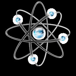 Atom Physics Science Super Vista 256px Icon Gallery