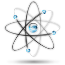Atom physics science