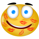 Kiss smiley