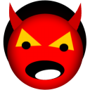 Satan devil smiley