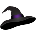Halloween hat witch