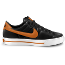 Nike classic shoe orange