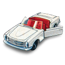 Mercedes matchbox