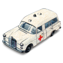 Mercedes benz ambulance matchbox
