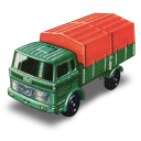 Mercedes truck matchbox