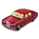Rolls royce silver shadow matchbox