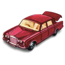 Rolls royce silver shadow matchbox with