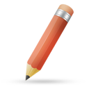 Pencil red